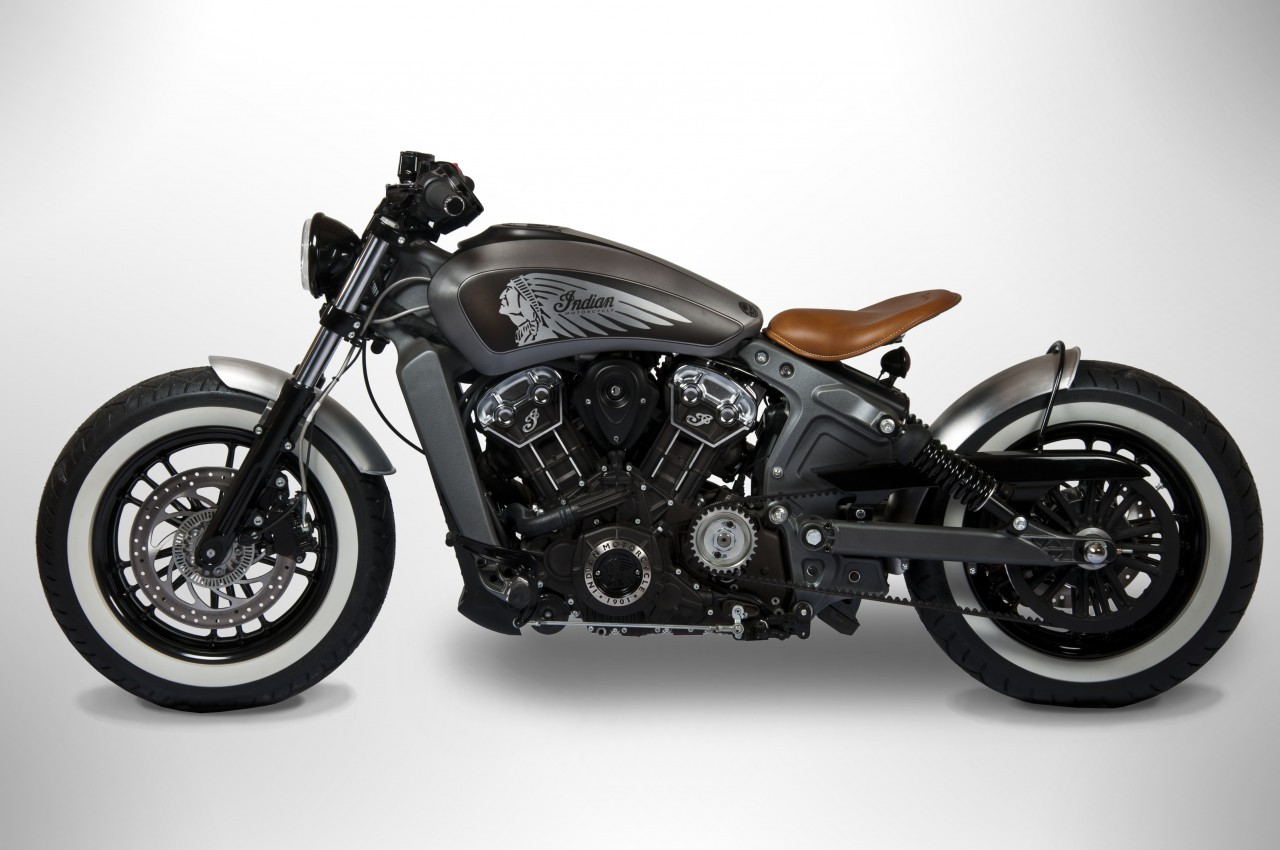 Test Ride An Indian Scout or Scout Sixty in Europe, Win a Custom One ...