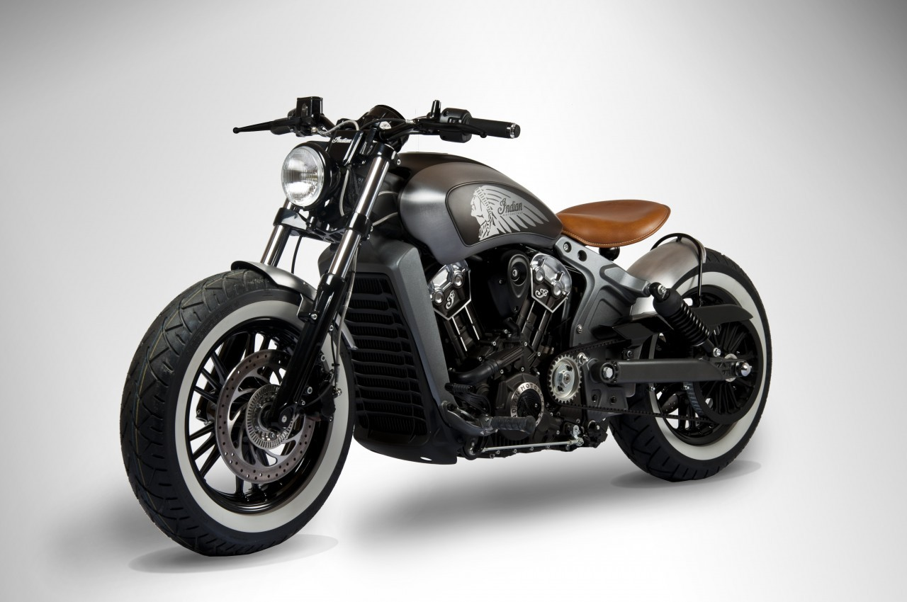 test ride an indian scout or scout sixty in europe win a custom one in april autoevolution. Black Bedroom Furniture Sets. Home Design Ideas