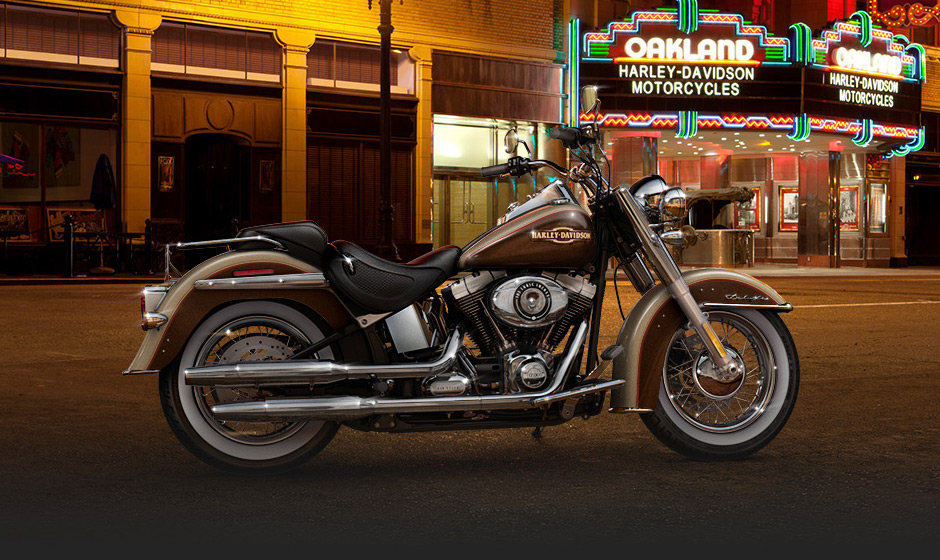 The 2014 Harley Davidson Softail Deluxe Revealed