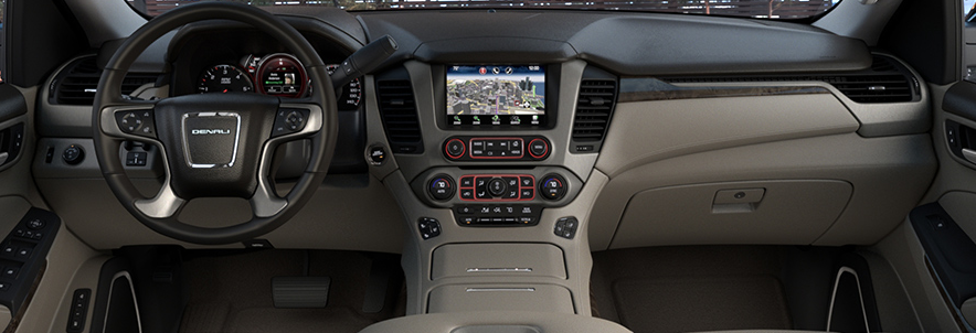 2015 GMC Yukon Interior Colors