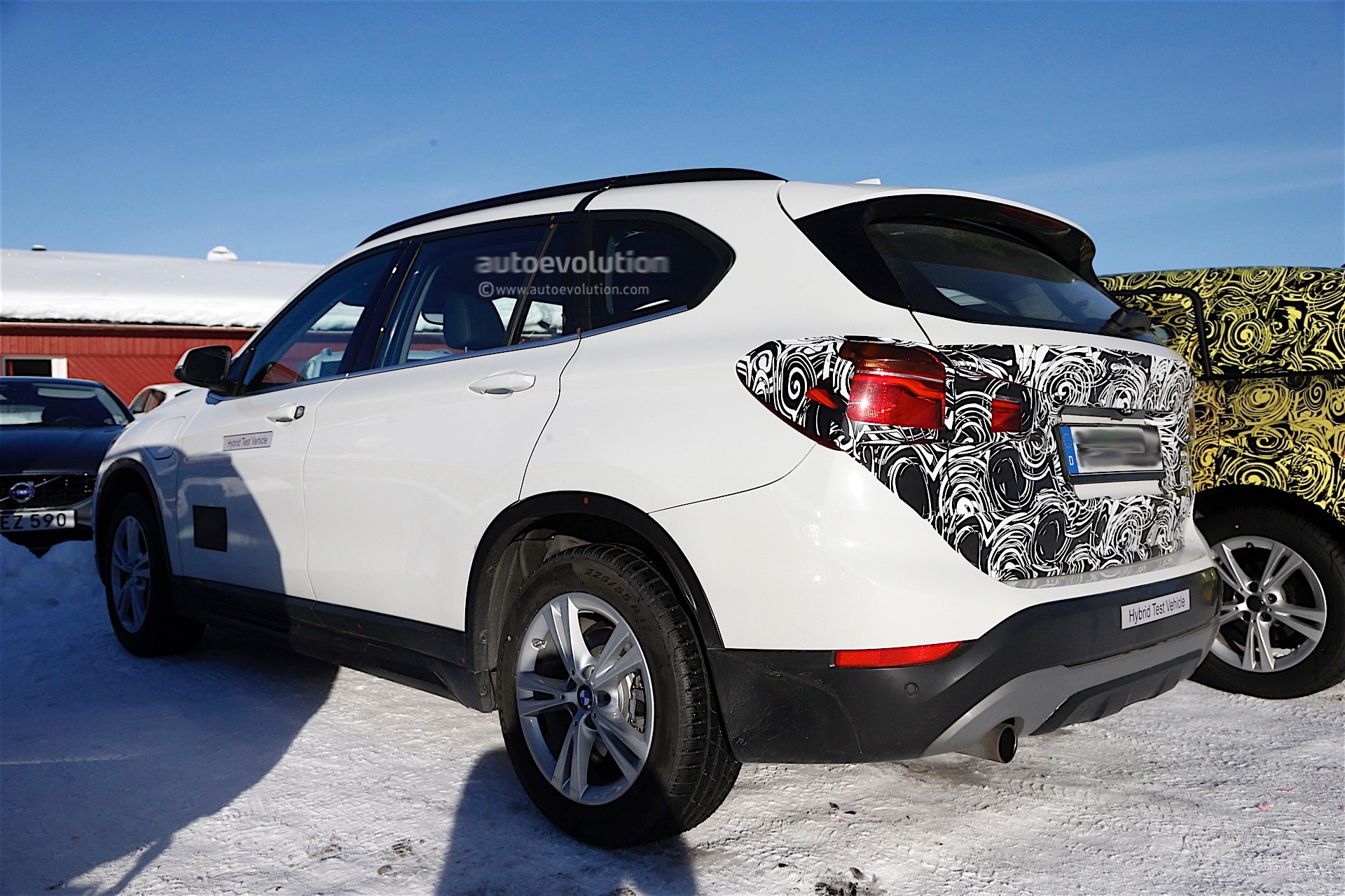2017 Bmw X1 Xdrive25le Iperformance Plug In Hybrid Revealed In China Autoevolution