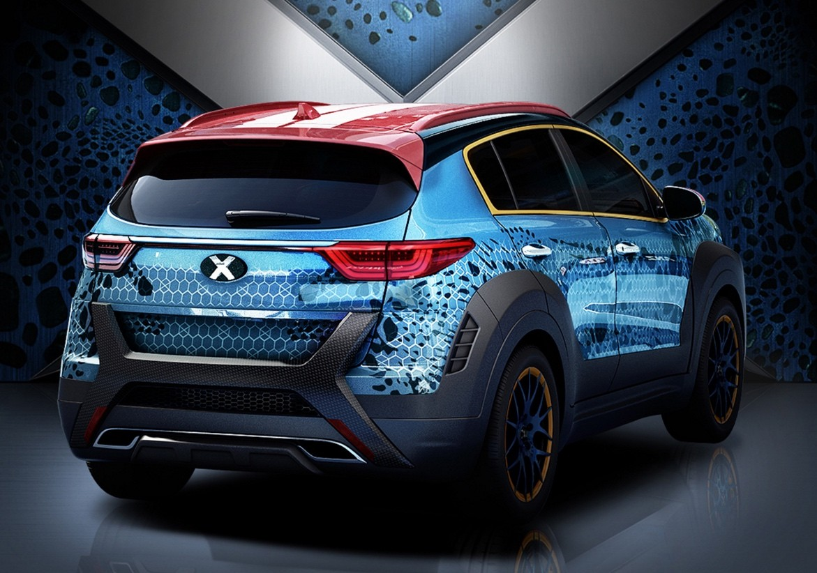 The 2017 Kia Sportage Has Been Mystique D Autoevolution