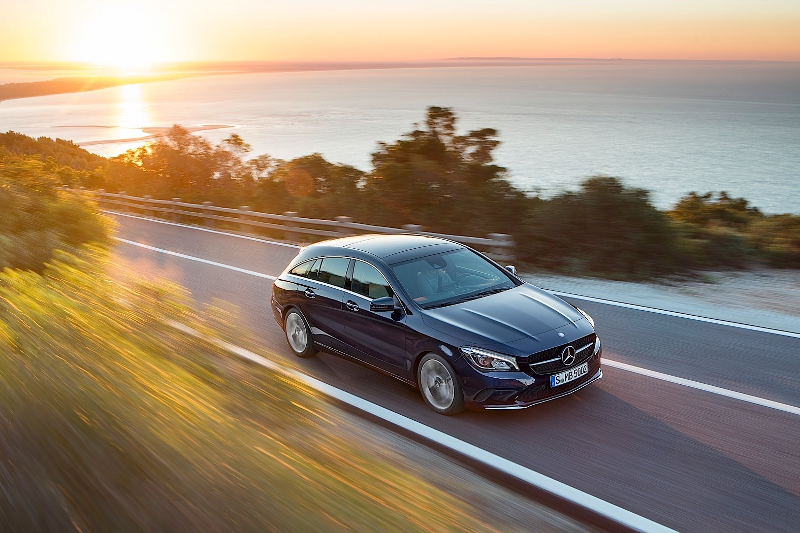 Mercedes benz has the most aerodynamic car range in the for Mercedes benz range