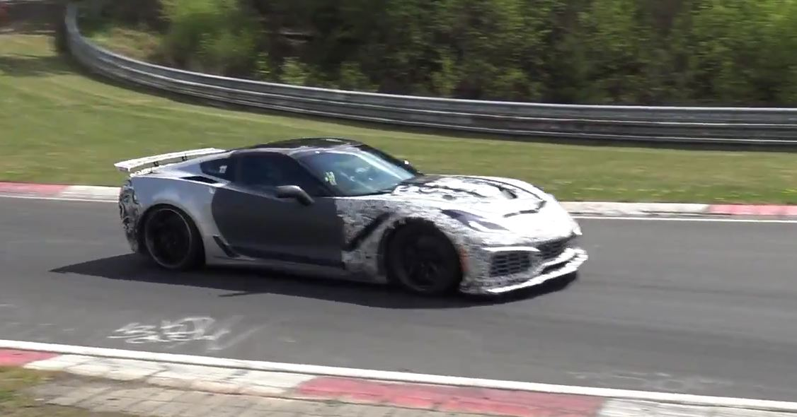 ... 2018 Corvette ZR1 On Nurburgring And Road With Two Body Kits ...