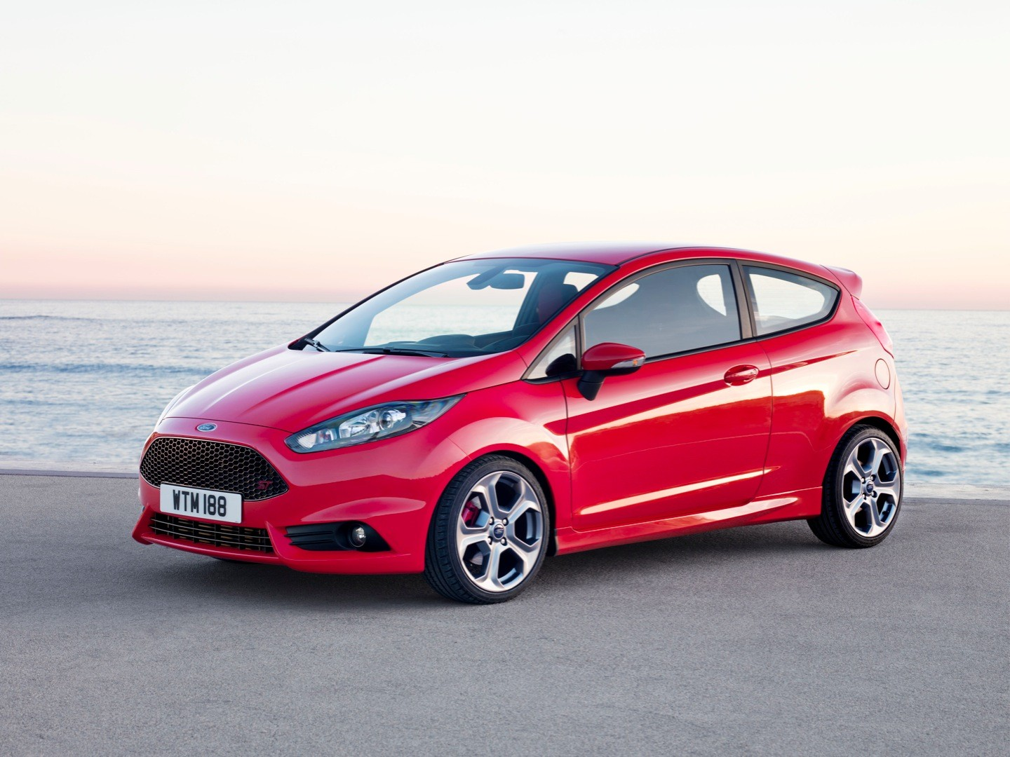 The 2018 Ford Fiesta St Compared To Its Predecessors