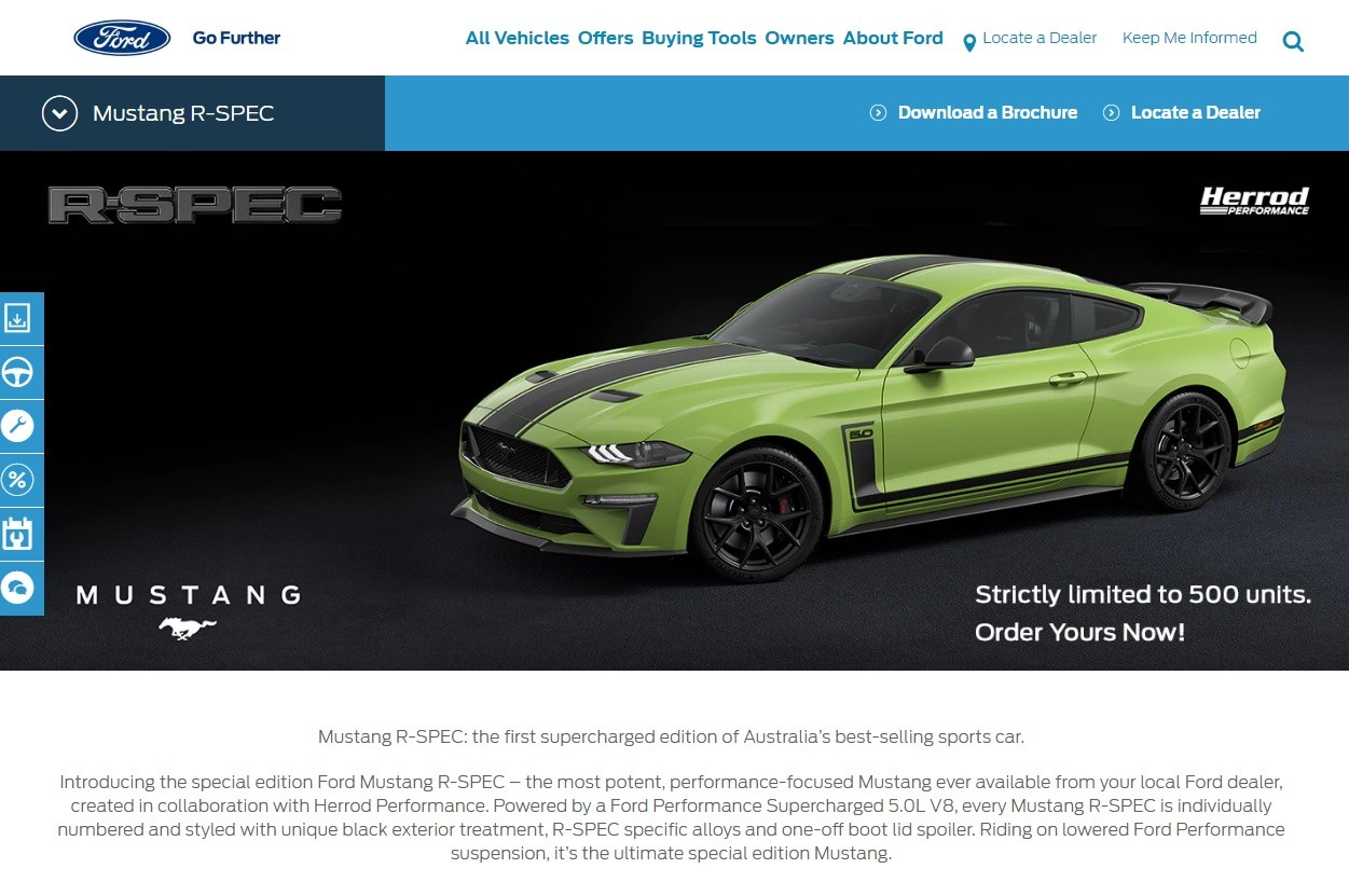 The 2020 Ford Mustang R Spec For Australia Was Penned By