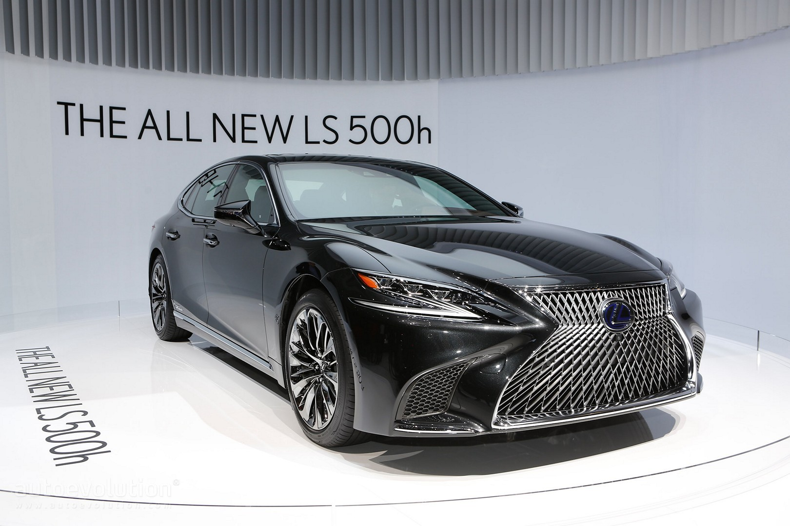 2018 lexus 500 ls. interesting lexus the allnew 2018 lexus ls 500h gets revealed in geneva  on lexus 500 ls