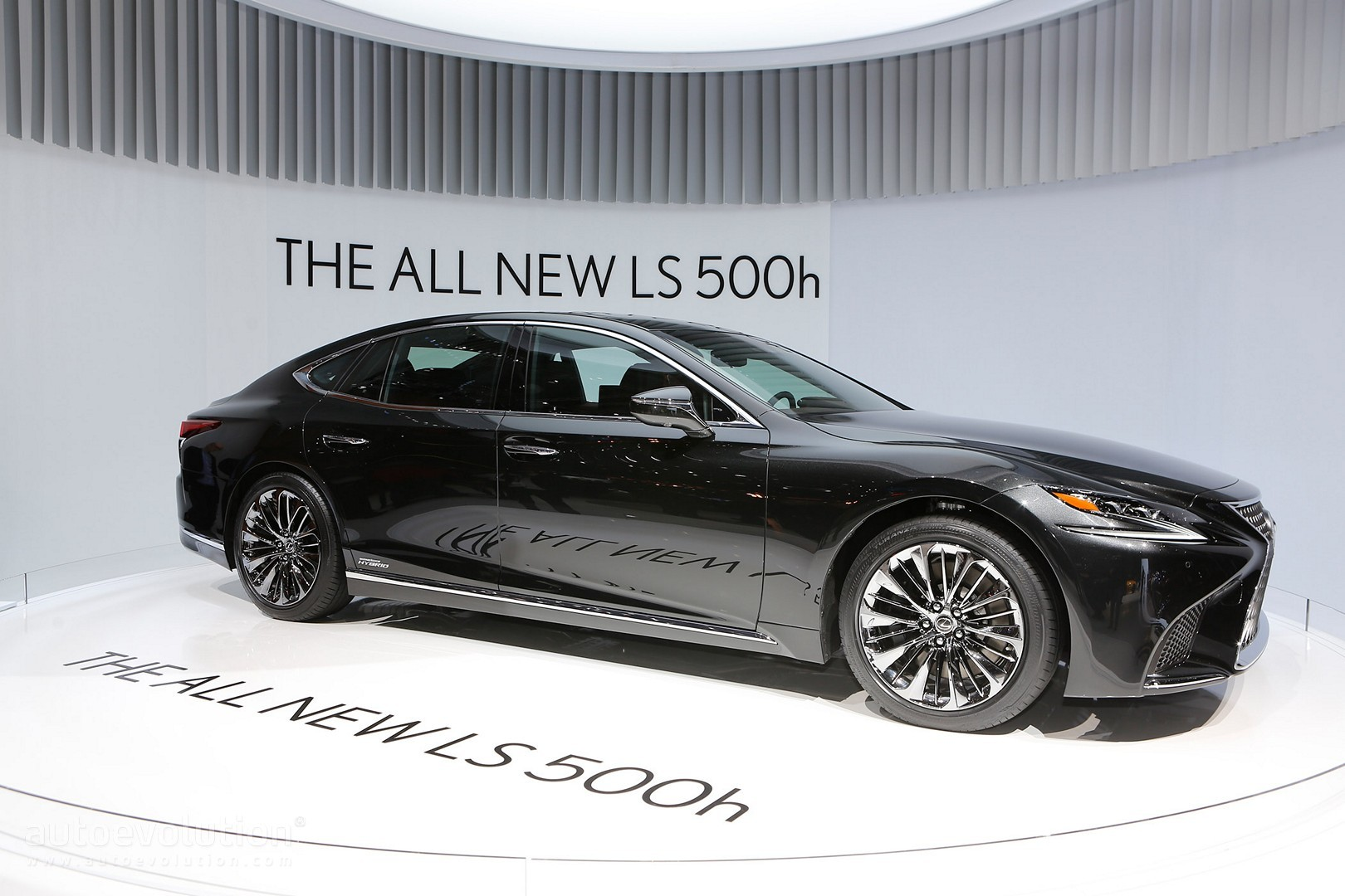 the all new 2018 lexus ls 500h gets revealed in geneva