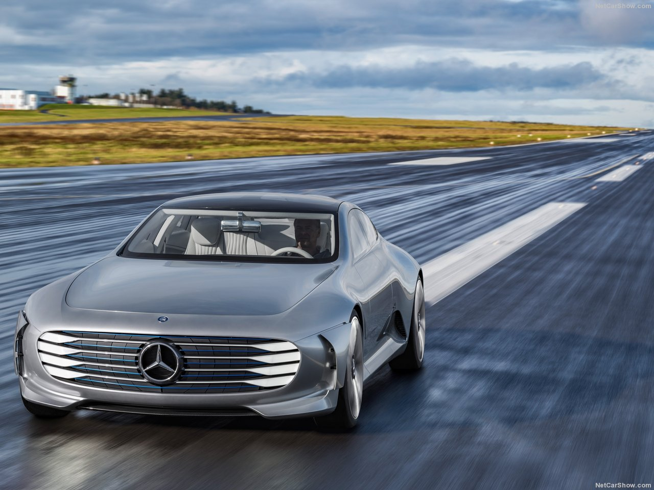 The all new mercedes benz ev announced for paris might be for All new mercedes benz