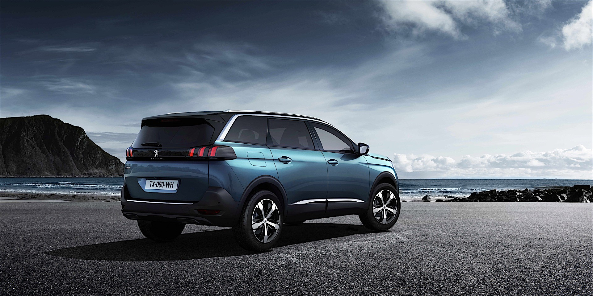 peugeot unveils all new 5008 it 39 s a seven seat crossover autoevolution. Black Bedroom Furniture Sets. Home Design Ideas