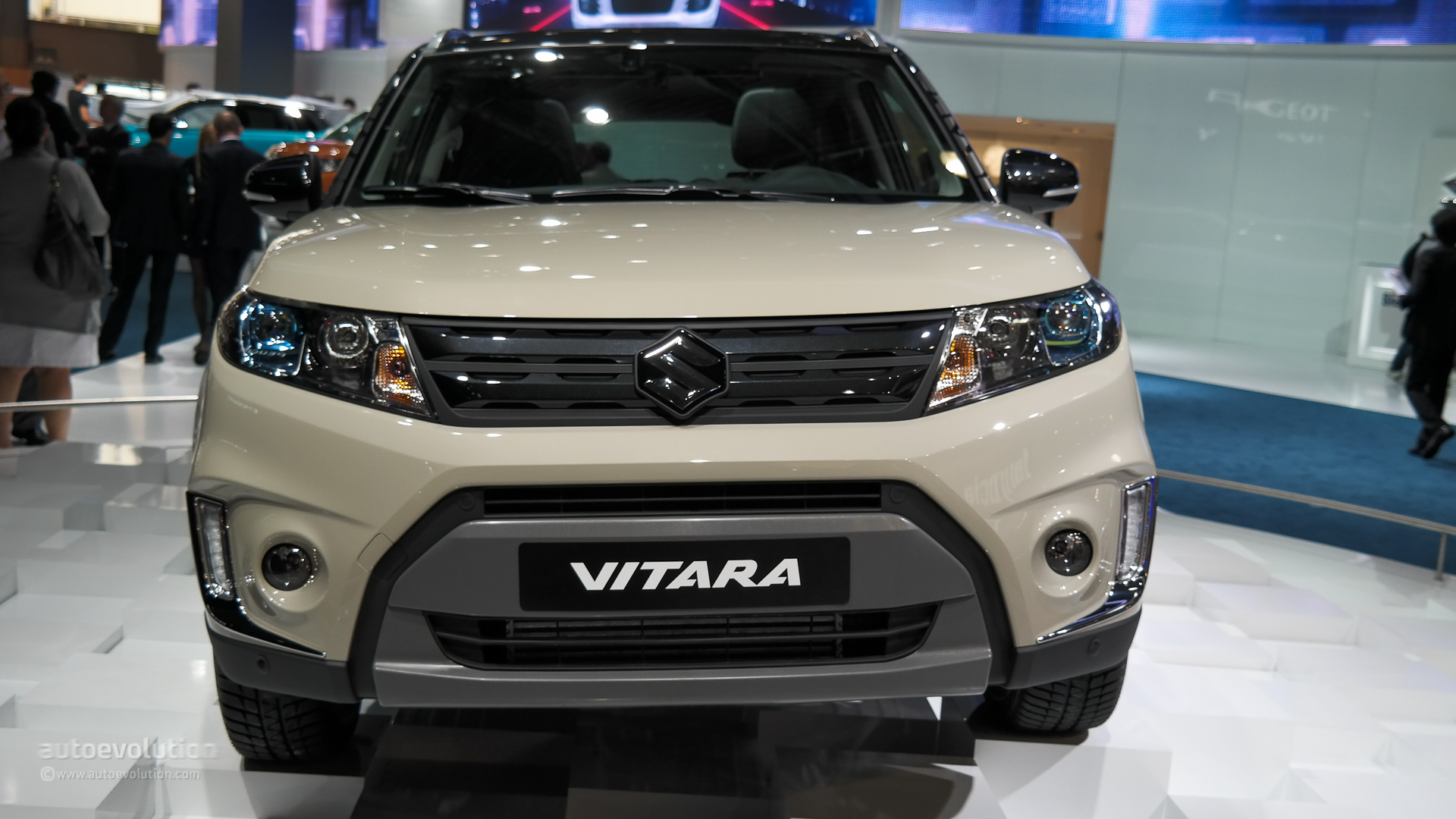the all new suzuki vitara makes first appearance at paris. Black Bedroom Furniture Sets. Home Design Ideas