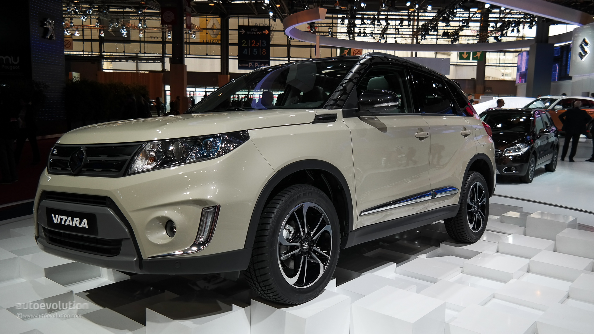 The All-new Suzuki Vitara Makes First Appearance At Paris 2014  Live Photos
