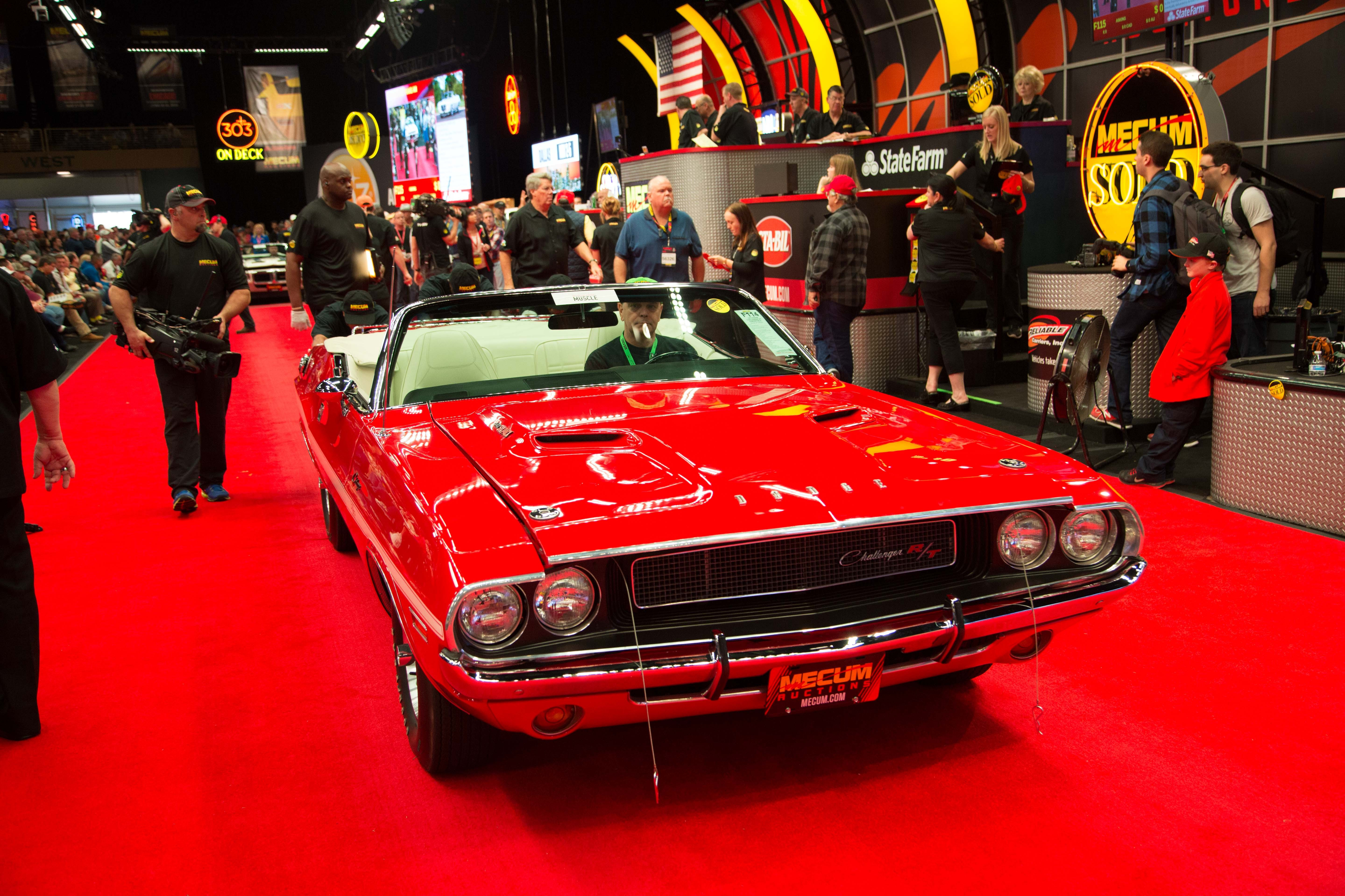 Mecum Kissimmee 2016\'s Day 8 Sees Million-Dollar Muscle Cars Get ...