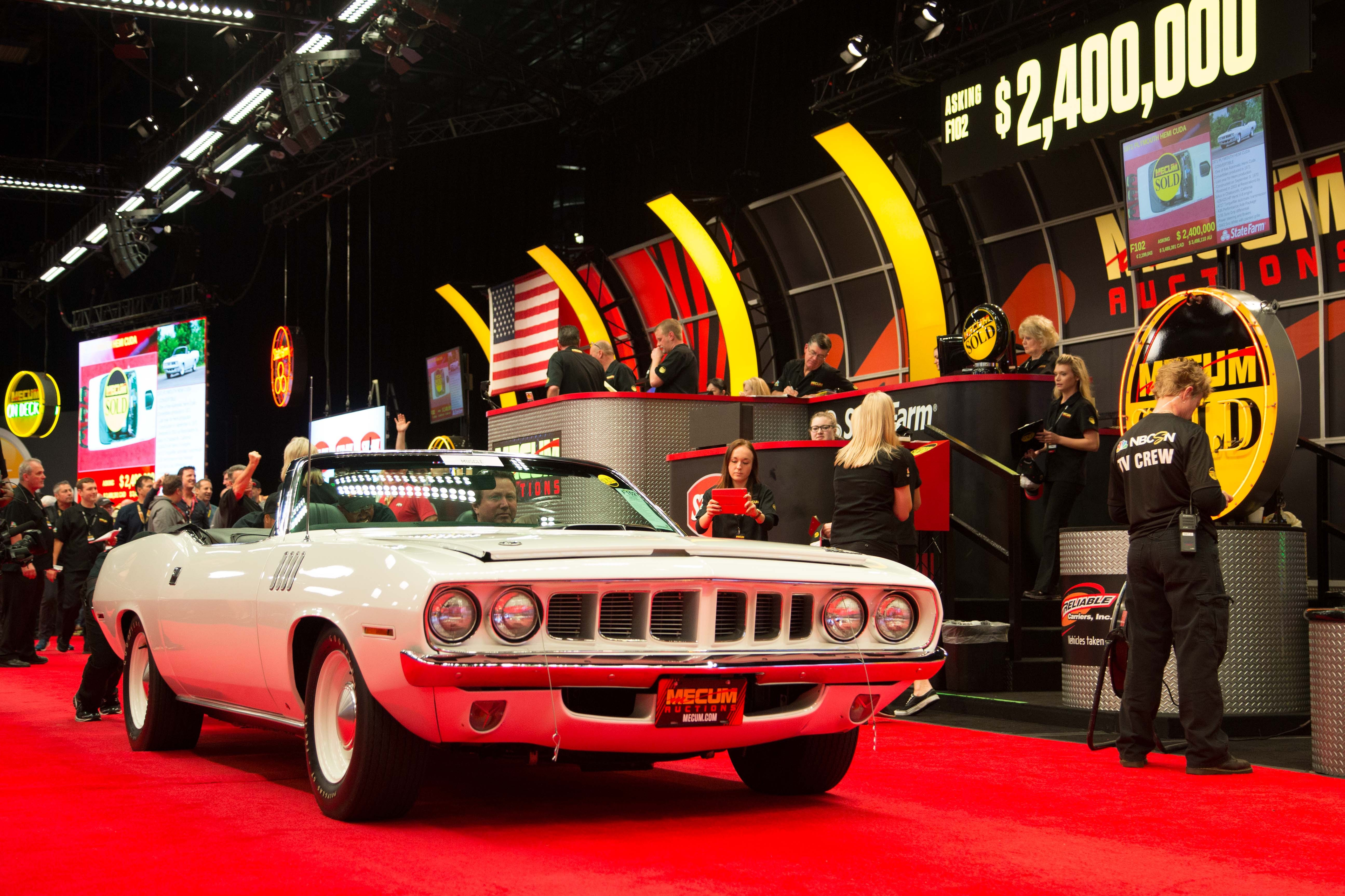 Car Auction Usa >> Mecum Kissimmee 2016's Day 8 Sees Million-Dollar Muscle Cars Get Sold - autoevolution