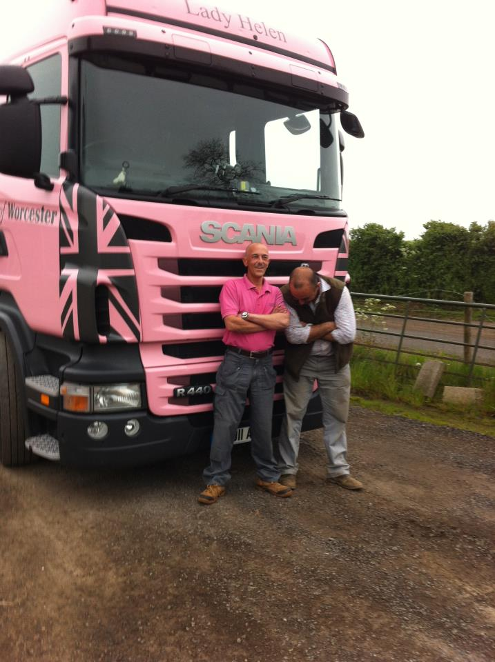The Big Pink Trucks Of Britain A Story Of Creative Marketing Autoevolution