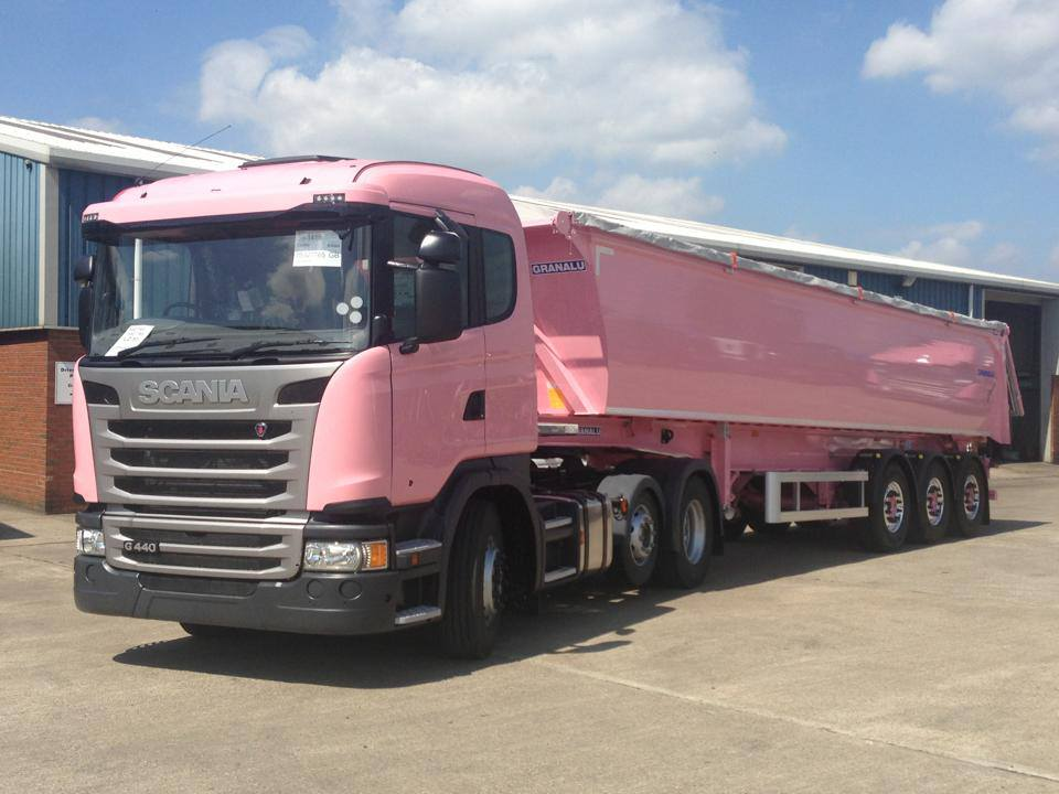 The Big Pink Trucks Of Britain A Story Of Creative
