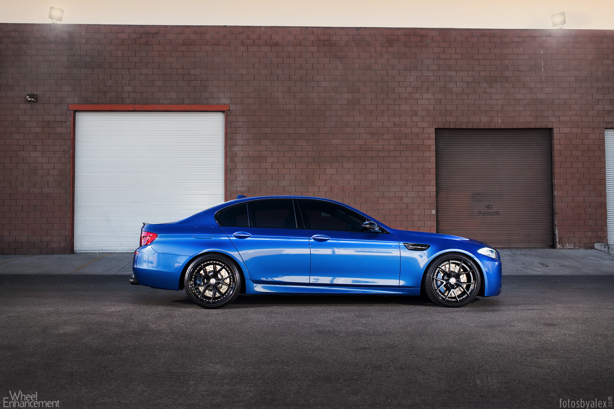 The Blue Marble: BMW F10 M5 on HRE S101 Wheels - autoevolution