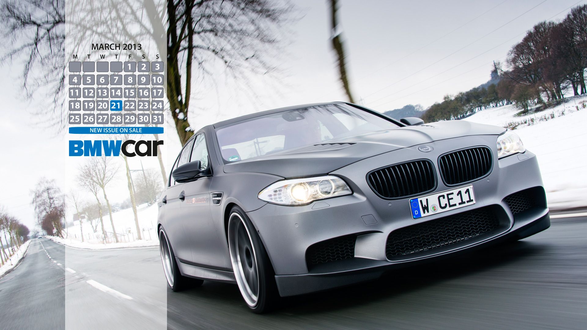 The Bmw Car Magazine Desktop Calendar Wallpapers Are Here