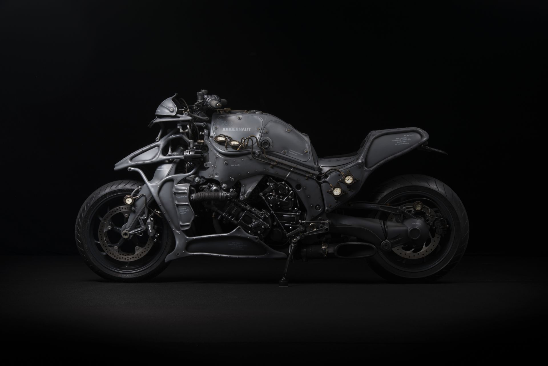 The Bmw K1600gtl Juggernaut Is A Steampunk Thing Of Beauty And Love Autoevolution