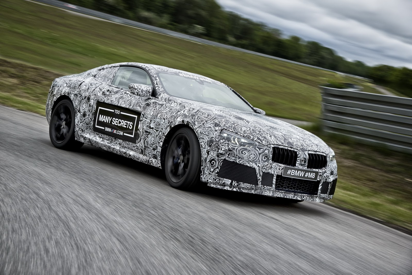 The Bmw M8 Is Real Gets Shown At Nurburgring 24h