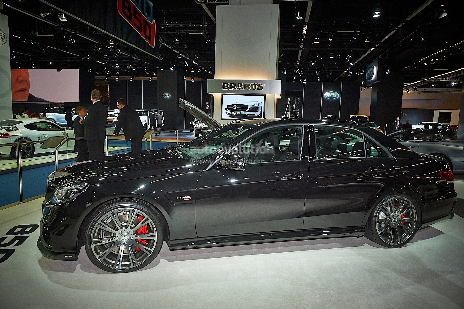 The Brabus 850 6 0 Biturbo 4matic Means Business Live