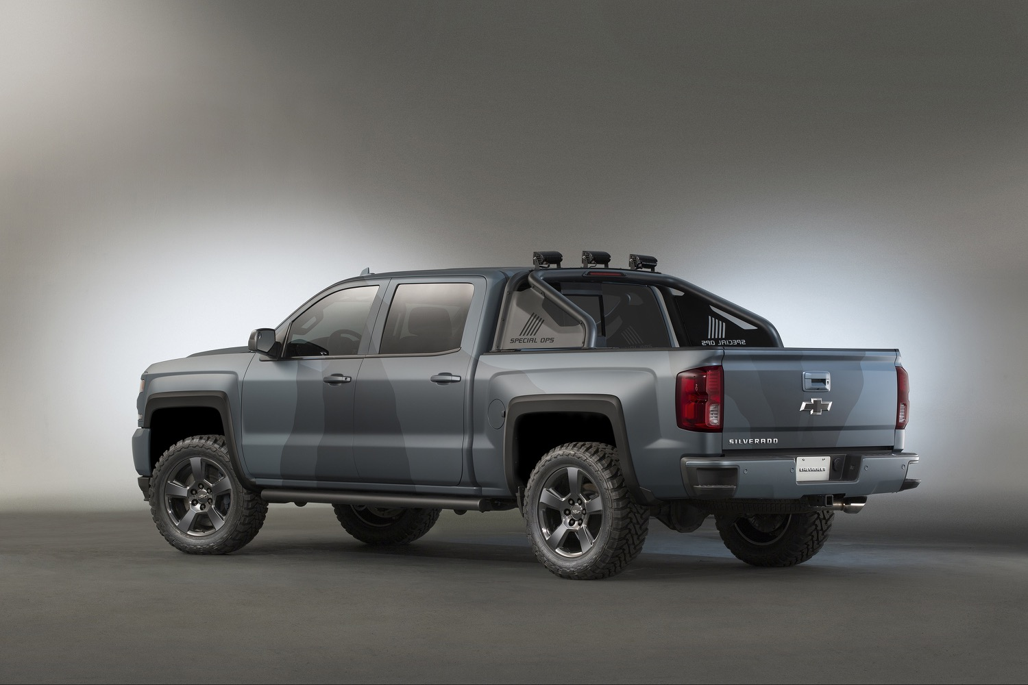 chevrolet silverado special operations the special ops is based on a 2016 silverado 1500