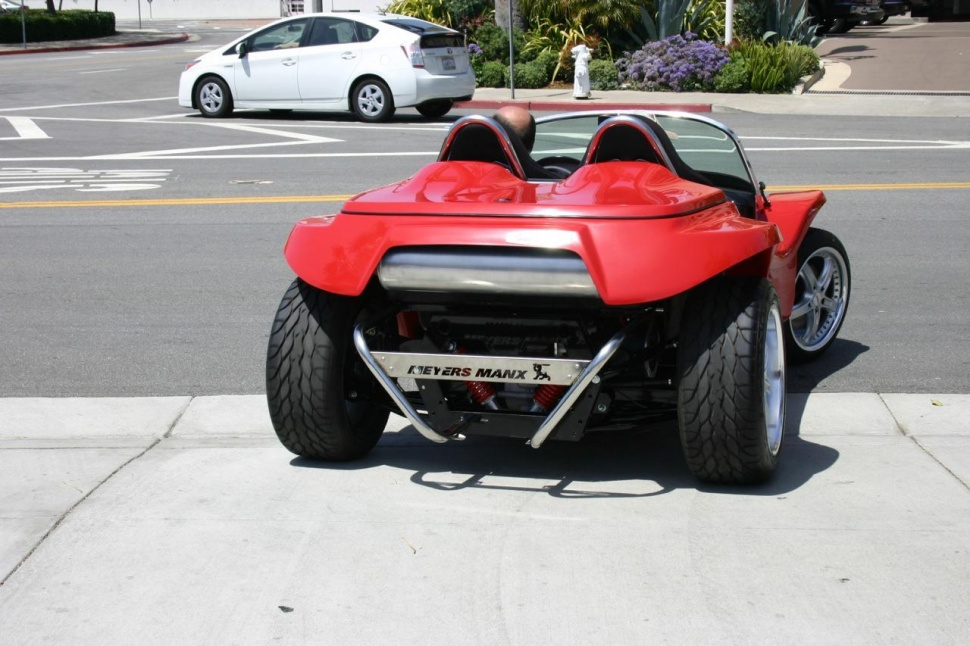The Classic Meyers Manx Dune Buggy Gets Electric Counterpart
