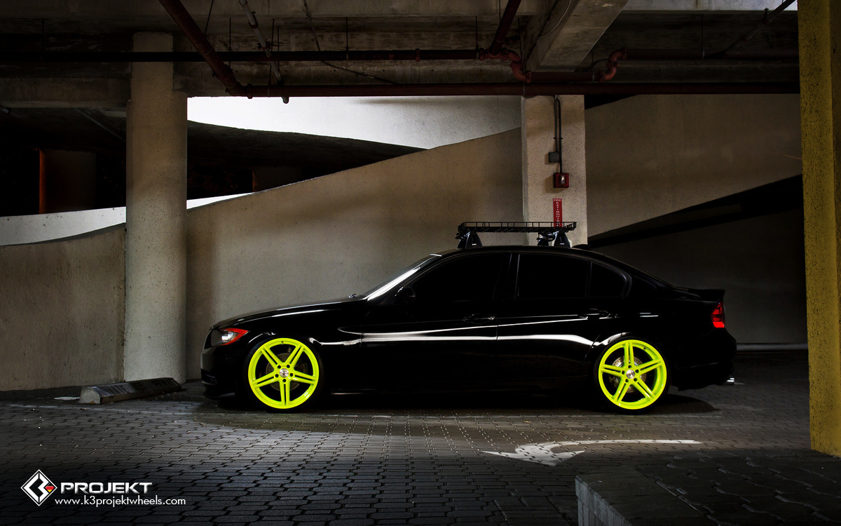 The Delivery Car For K3 Projekt Is A 328i Bmw E90