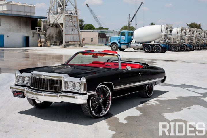 The donk putting huge wheels on a car autoevolution