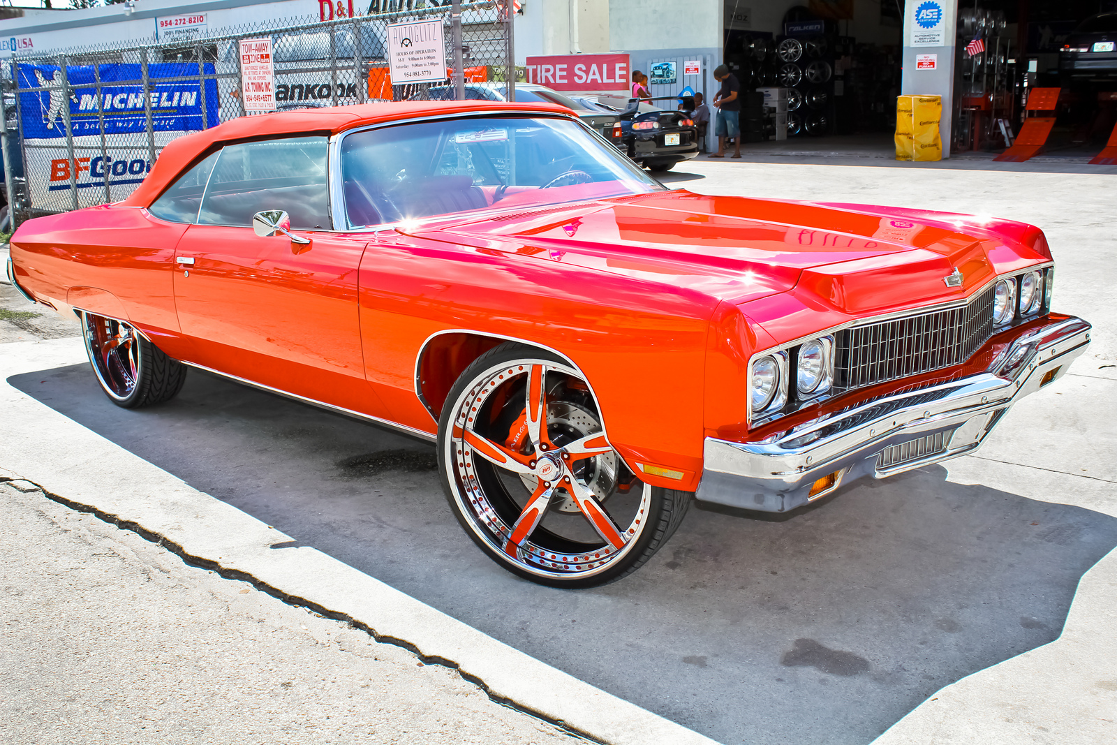 2014 Chevy Impala Ltz For Sale The Donk Putting Huge Wheels on a Car autoevolution