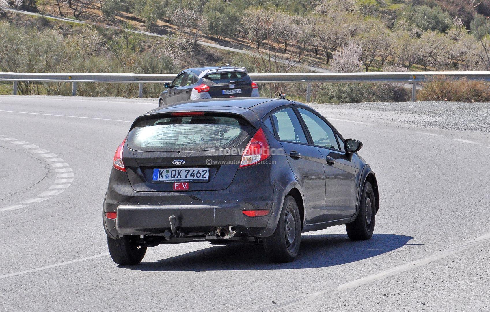 Ford Fiesta Rs Spyshots