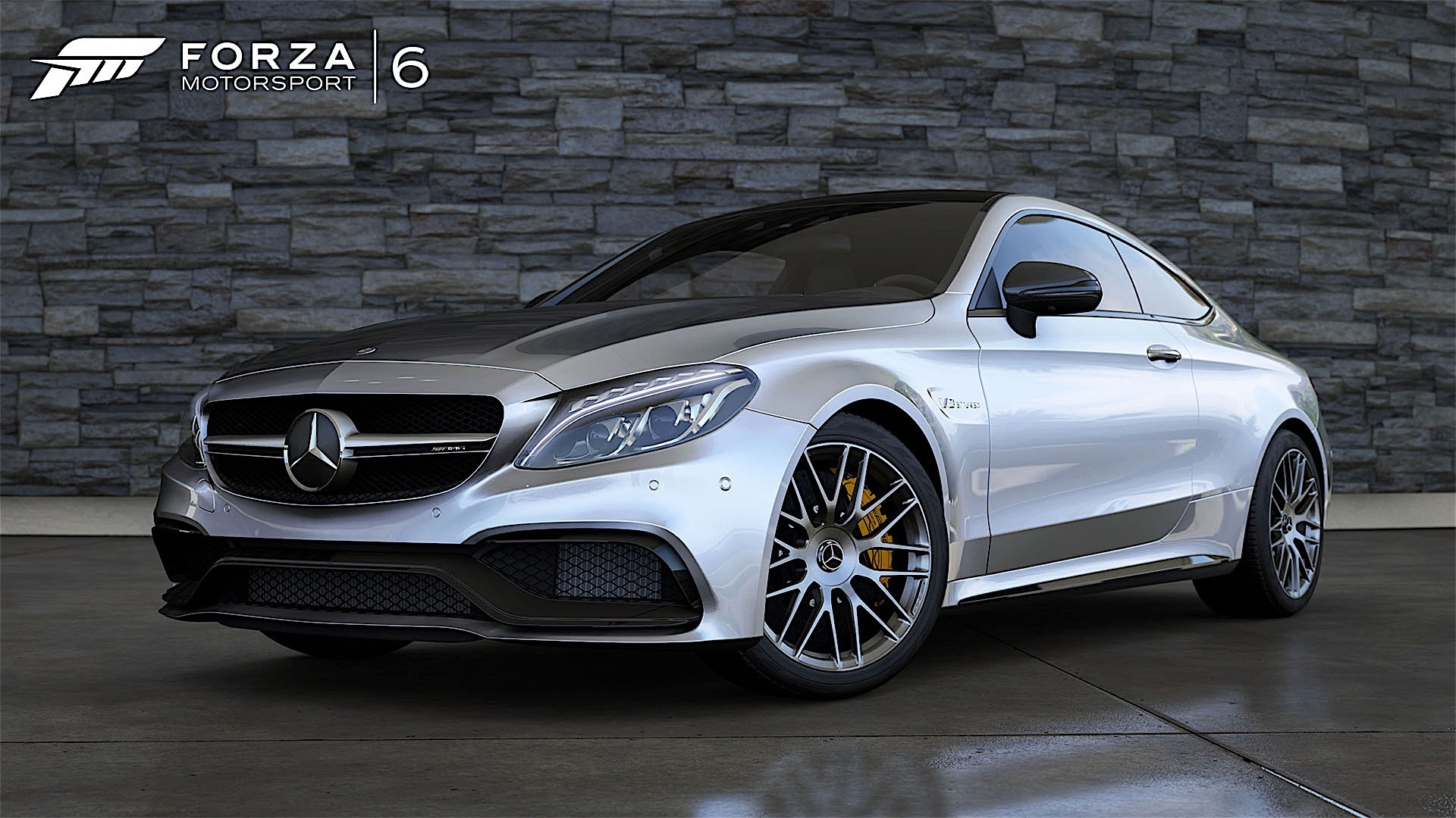 the forza 6 is strong in this mercedes amg c63 s coupe. Black Bedroom Furniture Sets. Home Design Ideas