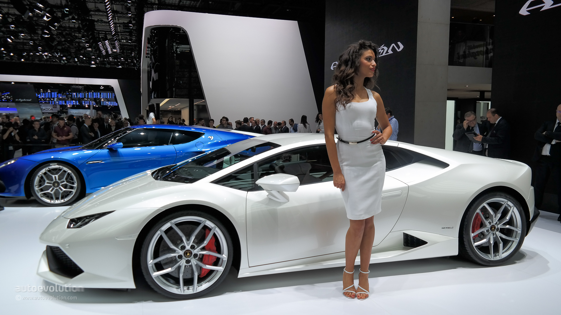 Paris car show pictures