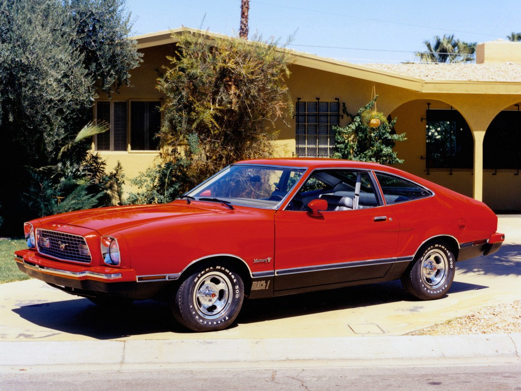 Second generation ford mustang mach 1 1974