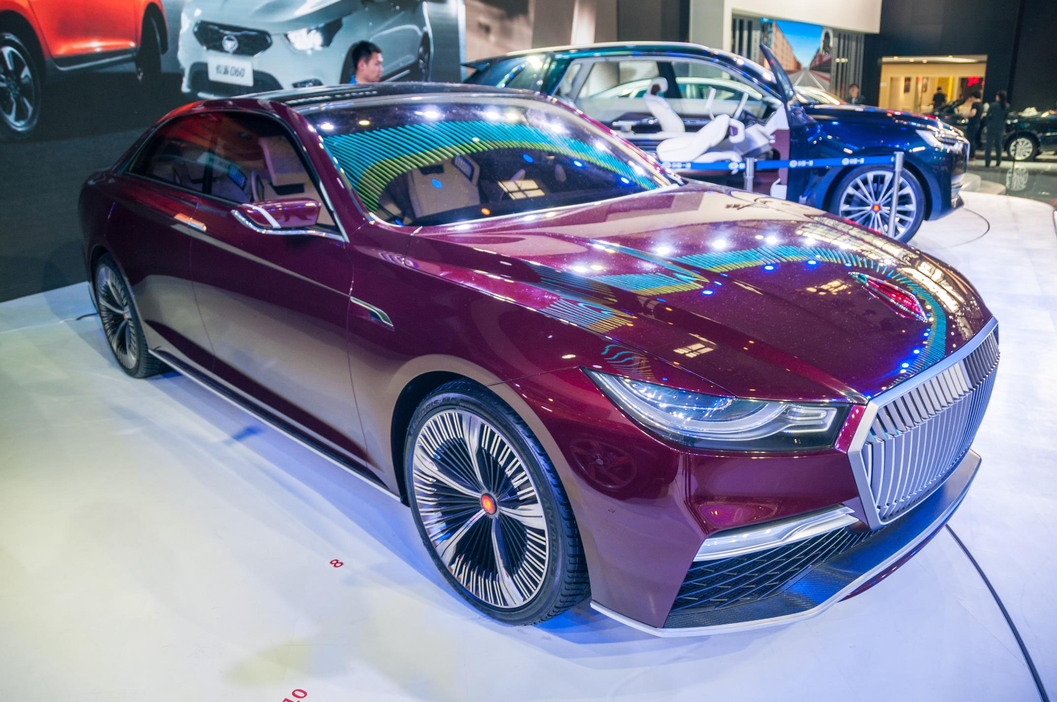 The Hongqi B Concept Is Not A Dictator S Audi In Beijing Autoevolution