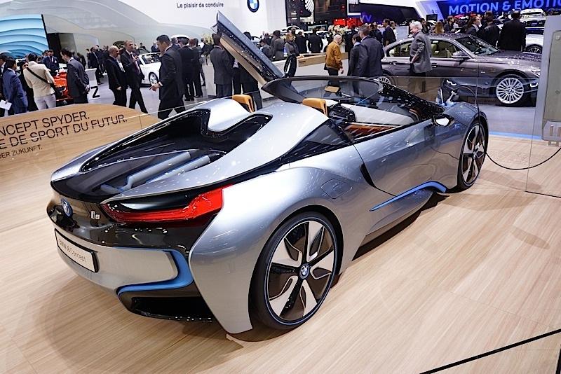 High Quality BMW I8 Spyder Concept BMW I8 Spyder Concept ...