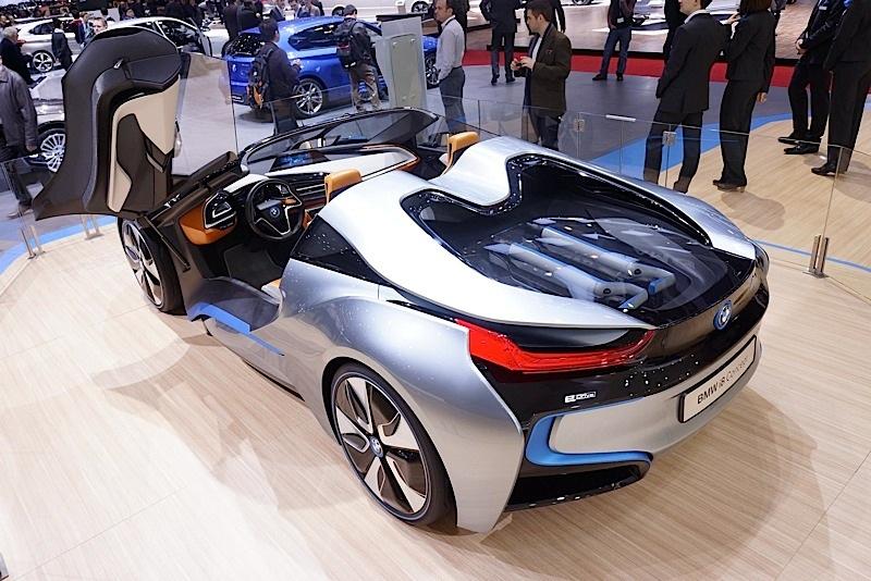 The Hybrid Sports Car From Bmw Present At Geneva 2013 Autoevolution