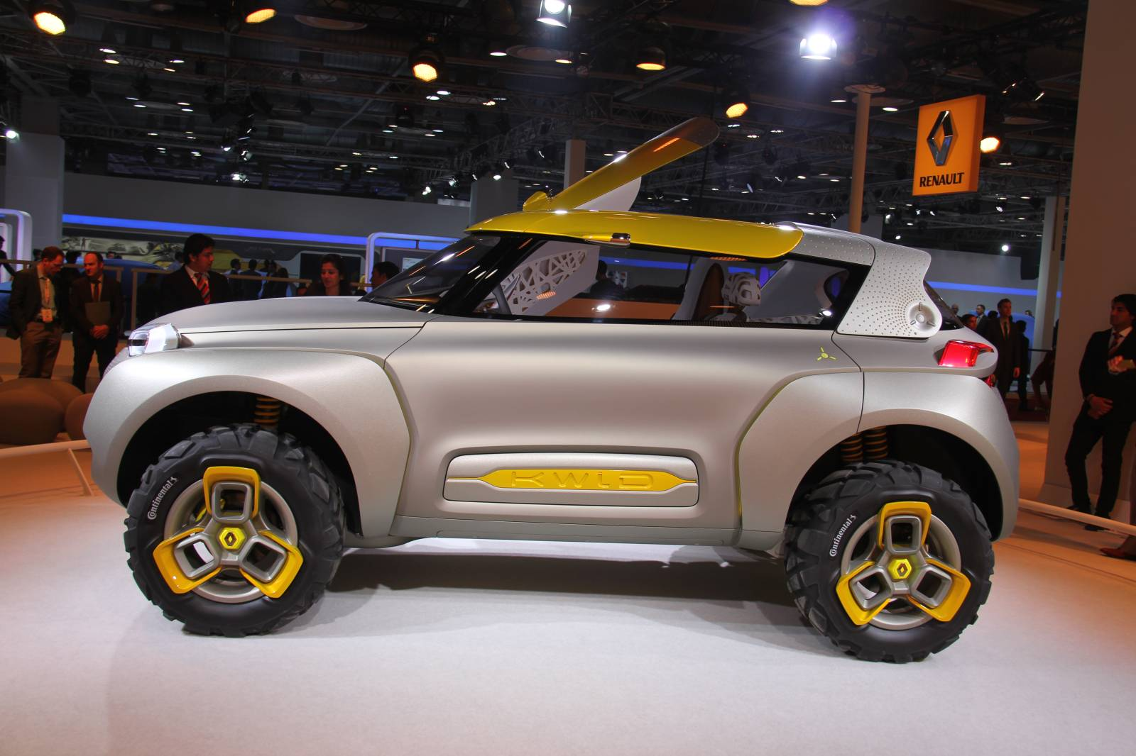 The KWID Concept Could Become Renault's Next Crossover in 2016 - autoevolution