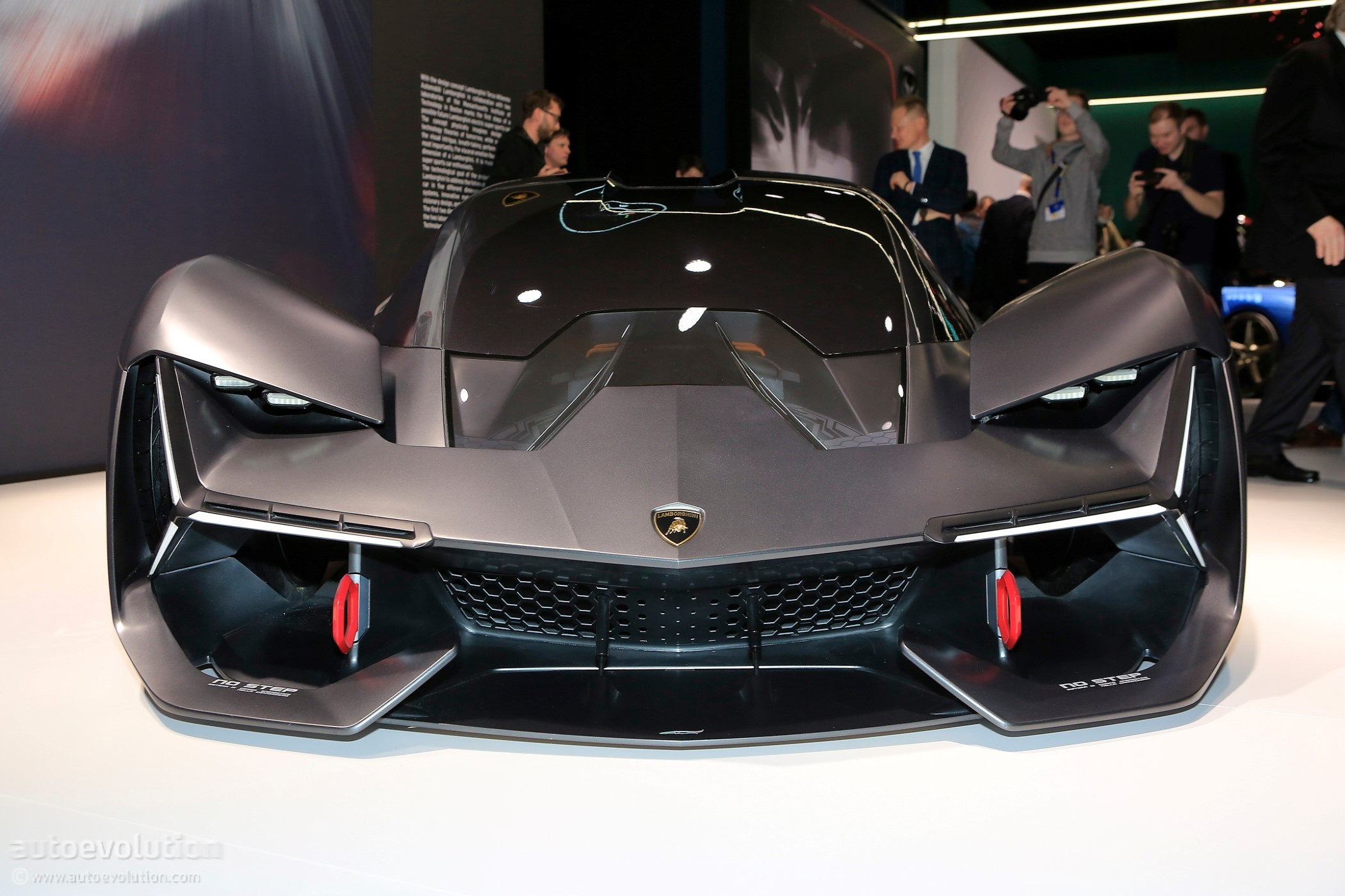 Lamborghini Terzo Millennio Live At 2018 Geneva Motor Show
