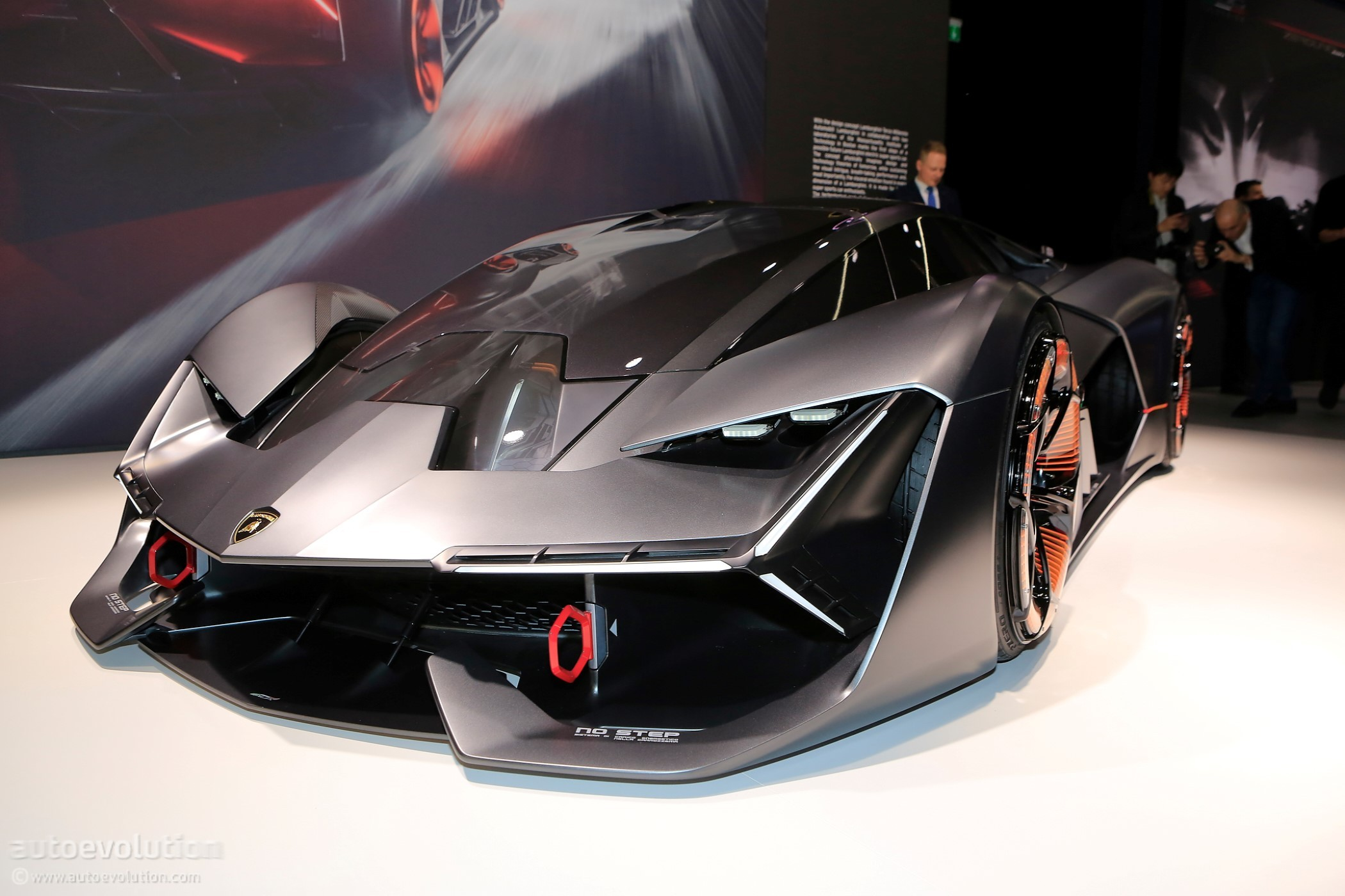 the lamborghini terzo millennio is geneva s most aggressive concept car autoevolution. Black Bedroom Furniture Sets. Home Design Ideas