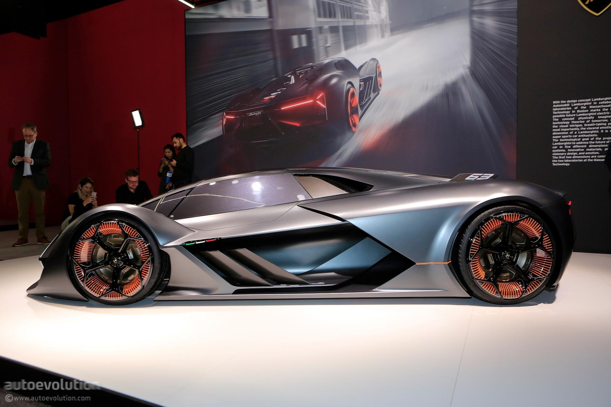 Future Of The Car: The Lamborghini Terzo Millennio Is Geneva's Most