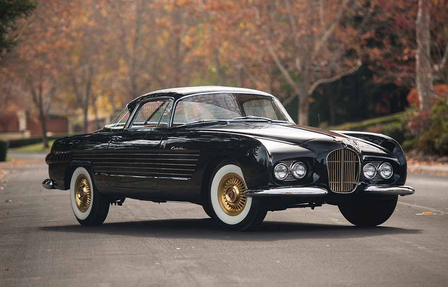 Unique 1953 Cadillac 62 Coupe by Ghia Is Up for Auction - autoevolution