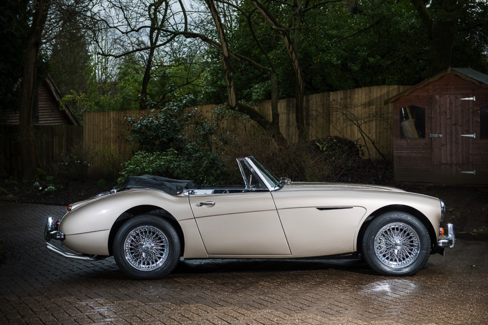 The Last Austin Healey 3000 Mk Iii Ever Produced Heads To