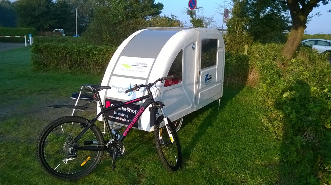 The Lightest Caravan You Can Get Bicycle Towable