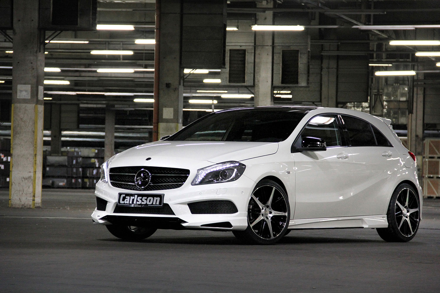 The Mercedes Benz A Class W176 Gets Carlsson Ized