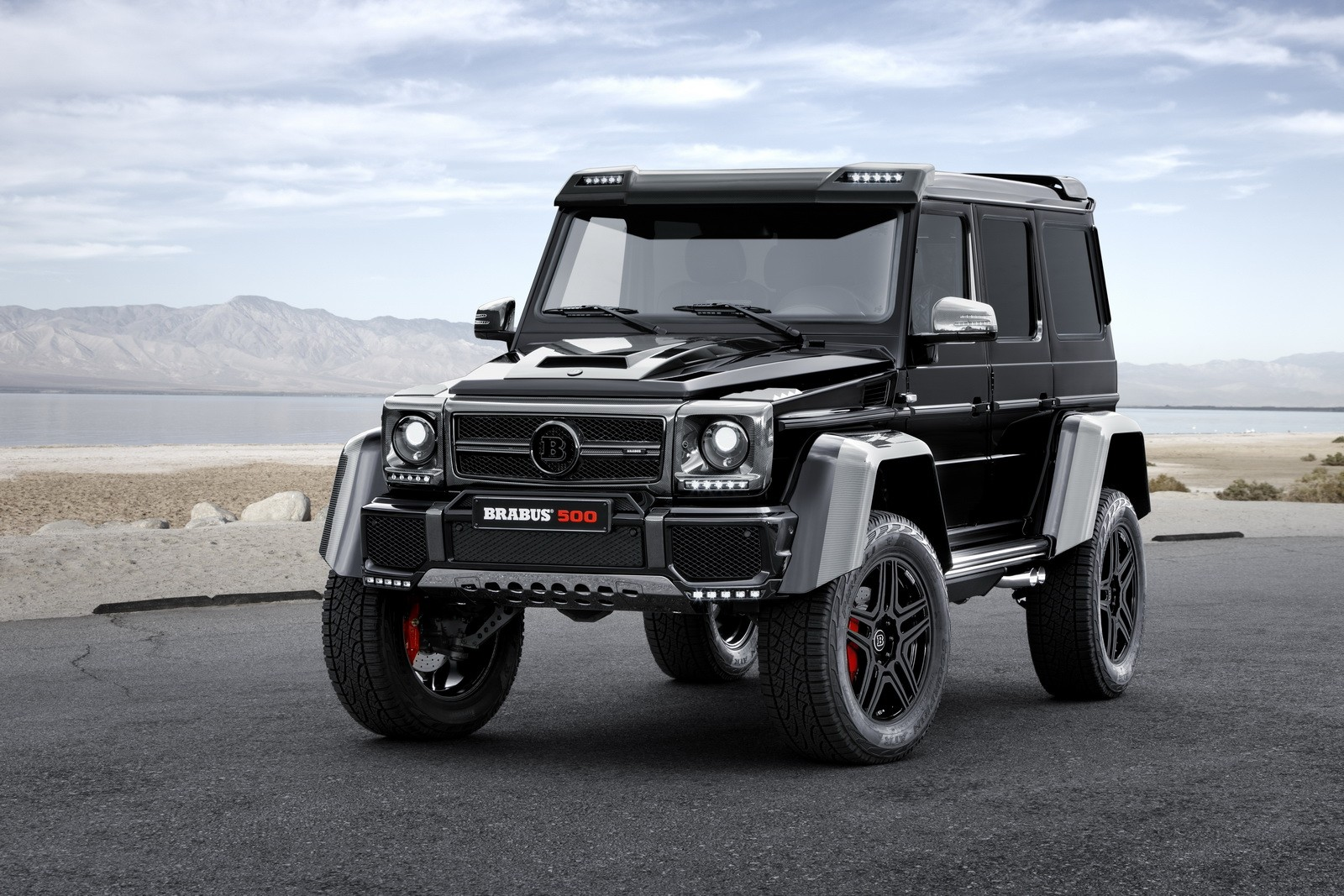 the mercedes benz g500 4x4 to the power of two is taken to the power of brabus autoevolution. Black Bedroom Furniture Sets. Home Design Ideas