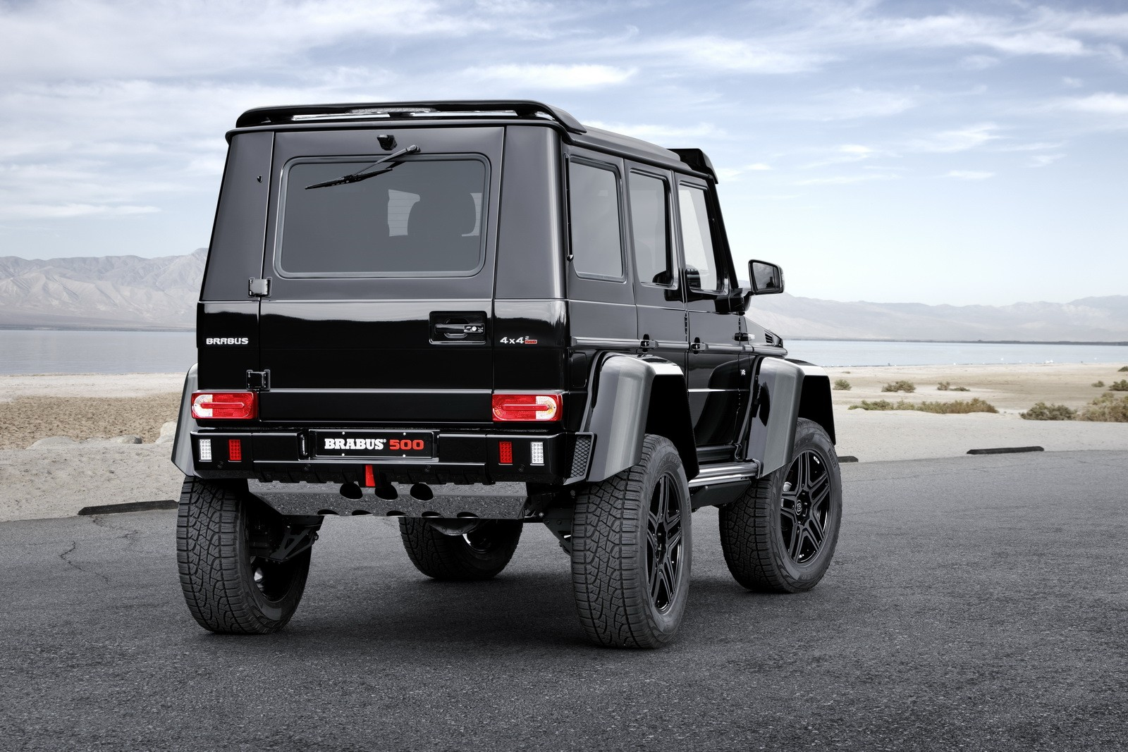 The mercedes benz g500 4x4 to the power of two is taken to for Mercedes benz g500