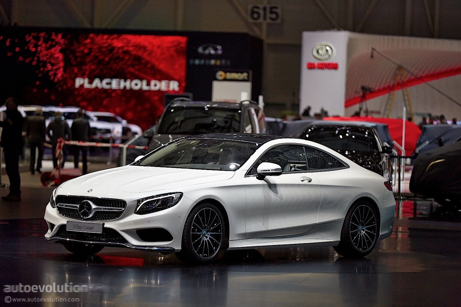The Mercedes Benz S Class Coupe C217 Reaches Geneva