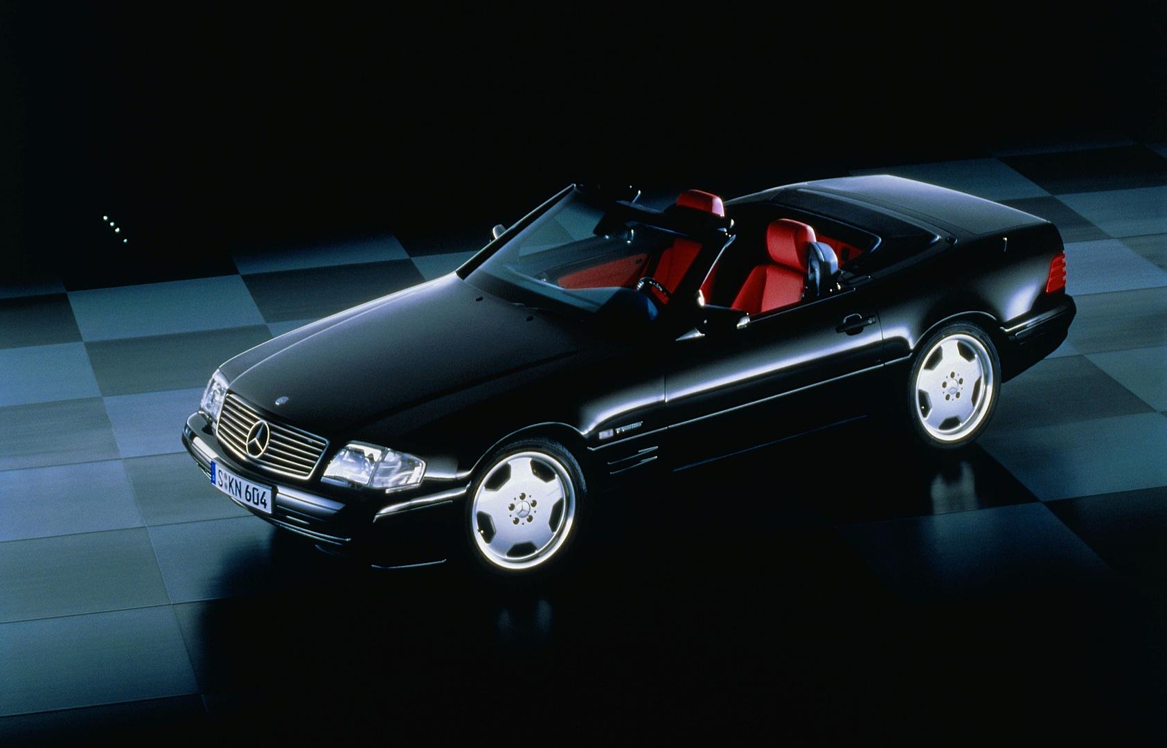 the mercedes benz sl roadster r129 turns 25 photo. Black Bedroom Furniture Sets. Home Design Ideas