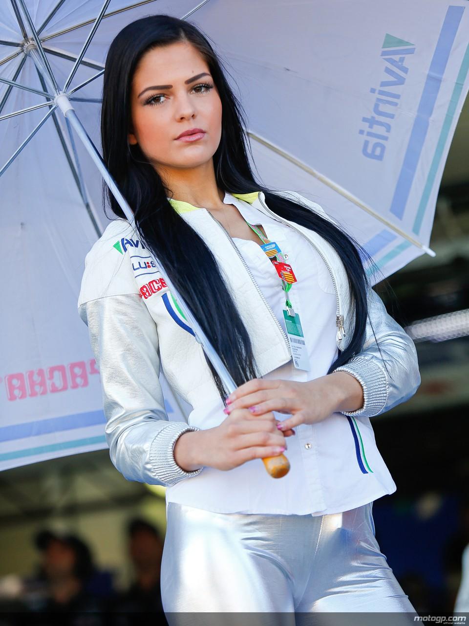 2013 MotoGP: the Beautiful Paddock Girls at Sachsenring